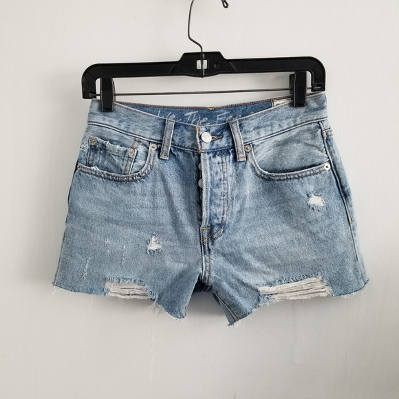 Free People Pants - We the free high waisted shorts